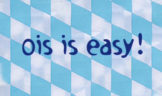Warnweste mit Vorder- und Rückenprint - O´zapft is - 10318 hellblau-weiß - Vorschau 2