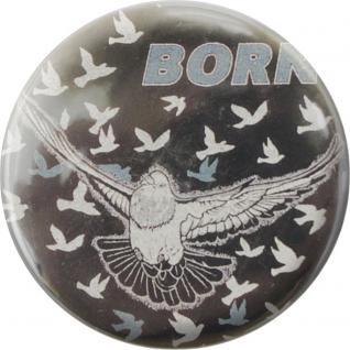 Küchenmagnet - Born to fly - Gr. ca. 5, 7 cm - 16202 - Magnet Kühlschrankmagnet
