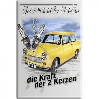 Küchenmagnet - Trabbi - Gr. ca. 8 x 5, 5 cm - 38793 - Magnet Kühlschrankmagnet