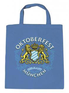 Umweltfreundliche Baumwolltasche - Oktoberfest München - 08937 - Bag Cotton