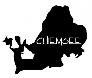 Aufkleber Wandapplikation - Chiemsee - AP2024 - versch. Größen