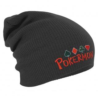 Longbeanie Slouch-Beanie Wintermütze Pokermon 54865 - Vorschau 2