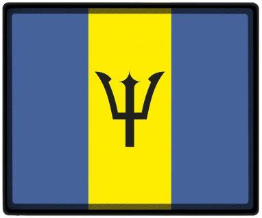 Mousepad Mauspad mit Motiv - Barbados Fahne 82022 - Gr. ca. 24 x 20 cm