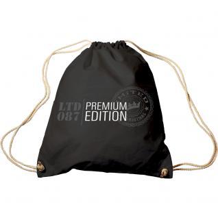 Trend-Bag mit Aufdruck - Trucker LKW Premium Edition - 65030 - Turnbeutel Sporttasche Rucksack