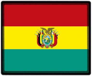 Mousepad Mauspad mit Motiv - Bolivien Fahne - 82027 - Gr. ca. 24 x 20 cm
