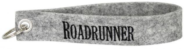 Filz-Schlüsselanhänger mit Stick - Roadrunner - Gr. ca. 17x3cm - 14222