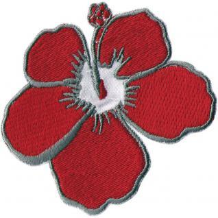 """AUFNÄHER """" Blume Blüte Mohnblüte"""" NEU Gr. 7cm x 7cm (04992) Stick Emblem Abzeichen patches Applikation"""