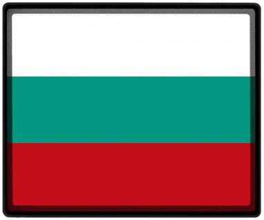 Mousepad Mauspad mit Motiv - Bulgarien Fahne Fußball Fußballschuhe - 82032 - Gr. ca. 24 x 20 cm