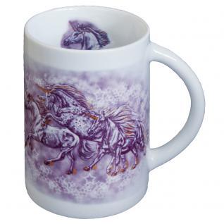 Tasse Keramikbecher Pferd Sternenponies Einhorn 57380 ©Kollektion Bötzel - Vorschau 1