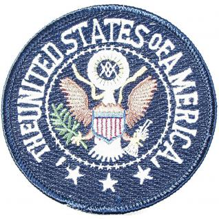 Aufnäher - United States of America - 04354 - Gr. ca. 8, 5 cm - Patches Stick Applikation
