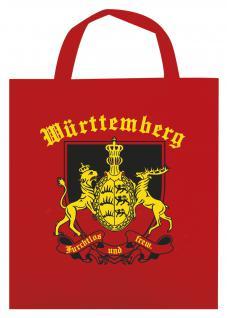Baumwolltasche mit Aufdruck - Württemberg - 08944 - Bag Cotton Einkaufstasche