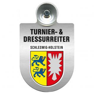 Einsatzschild Windschutzscheibe incl. Saugnapf - Turnier- und Dressurreiter im Einsatz - 309471-12 Region Schleswig-Holstein