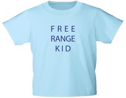 Kinder T-Shirt mit Print - FREE RANGE KID - 12757 hellblau - Gr. 98-164