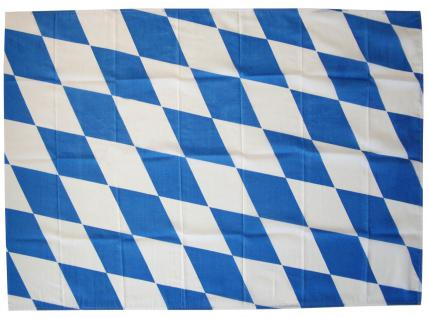 Deko-Fahne - Gr. ca. 150x100cm - Bayern - weiß-blaue Rauten-Flagge - 07815
