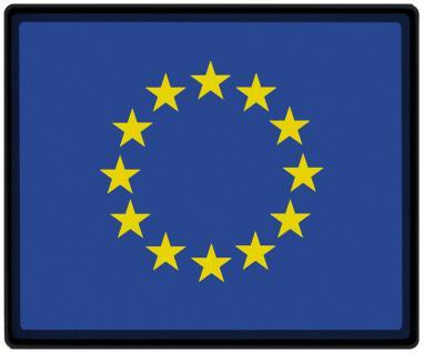 Mousepad Mauspad mit Motiv - Europa Fahne Fußball Fußballschuhe - 82048 - Gr. ca. 24 x 20 cm