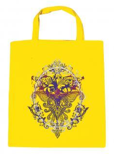 (U09582)Umweltfreundliche Baumwoll - Tasche , ca. 28 x 43 cm mit Aufdruck in 7 Farben gelb