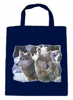 (08870/2-navy) Umweltfreundliche Baumwoll - Tasche , ca. 28 x 43 cm mit Aufdruck