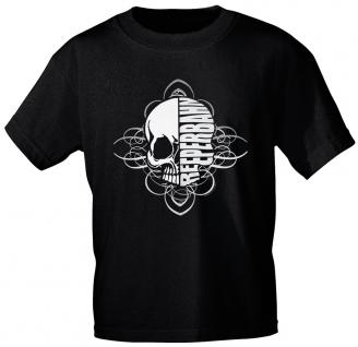 Marken - T-Shirt mit Aufdruck - Reeperbahn - 10531 - Gr. L