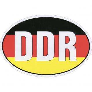 Aufkleber - DDR - 301058/1 - Gr. ca. 7, 8 x 5, 2 cm