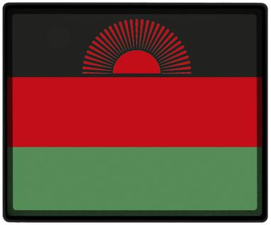 Mousepad Mauspad mit Motiv - Malawi Fahne Fußball Fußballschuhe - 82098 - Gr. ca. 24 x 20 cm