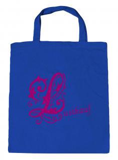 """(U10971)Umweltfreundliche Baumwoll - Tasche , ca. 28 x 43 cm mit Aufdruck """" Lustkauf"""" Pink"""