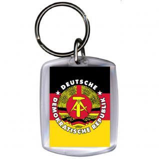 Keyholder Schlüsselanhänger - DDR MARX - Gr. ca. 3x4cm - 03380 - Vorschau 1