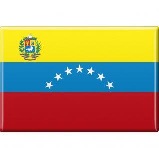 Magnet - Länderflagge Venezuela - Gr.ca. 8x5, 5 cm - 37853