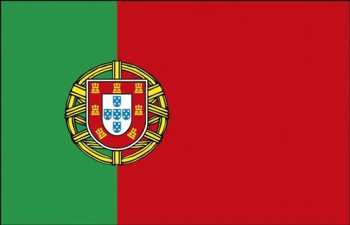 Deko-Länderflagge - Portugal - Gr. ca. 150x90cm - 80133 - Hissflagge Fahne mit Ösen