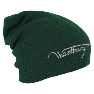 Longbeanie Slouch-Beanie Wintermütze Wartburg 55164 grün