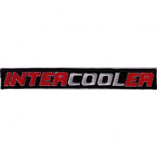 Aufnäher - INTERCOOLER - 00648 - Gr. ca. 15 x 2 cm - Patches Stick Applikation