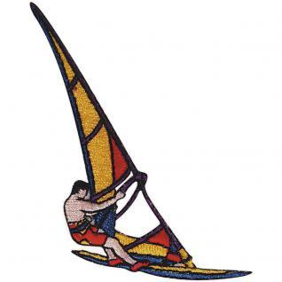 Aufnäher - Surfer - 04688 - Gr. ca. 6 x 7, 5 cm - Patches Stick Applikation