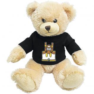 Plüsch - Teddybär mit Shirt - Lederhose - 27095