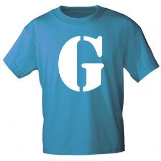 """Marken T-Shirt mit brillantem Aufdruck """" G"""" 85121-G L"""