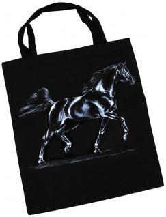 Baumwolltasche mit Pferdemotiv - ARABISCHER HENGST - 08868 - Collection Bötzel