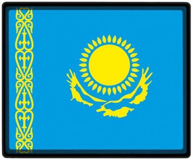 Mousepad Mauspad mit Motiv - Kasachstan Fahne - 82079 - Gr. ca. 24 x 20 cm