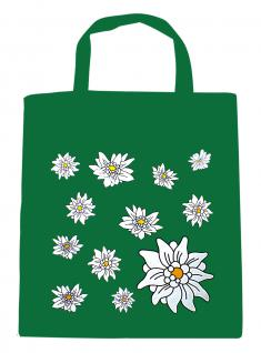 (08800-grün) Umweltfreundliche Baumwoll - Tasche , ca. 28 x 43 cm mit Aufdruck