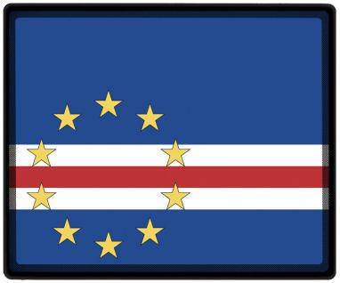 Mousepad Mauspad mit Motiv - Kap Verde Fahne Fußball Fußballschuhe - 82078 - Gr. ca. 24 x 20 cm