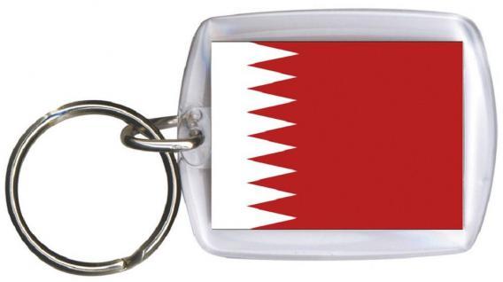 Schlüsselanhänger - BAHRAIN - Gr. ca. 4x5cm - 81020 - WM Länder