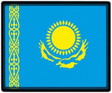 Mousepad Mauspad mit Motiv - Kasachstan Fahne Fußball Fußballschuhe - 82079 - Gr. ca. 24 x 20 cm
