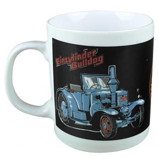 Tasse mit Print Traktor blau Lanz Bulldog 57173