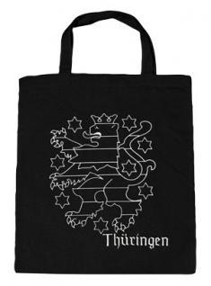 Baumwolltasche mit Druck - Thüringen - 08804 - Bag Cotton Umweltfreundlich