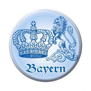 Magnetbutton - Bayern Krone Löwe - 16242 - Gr. ca. 5, 7 cm