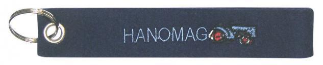 Filz-Schlüsselanhänger mit Stick - HANOMAG - Gr. ca. 17x3cm - 14103 - Keyholder