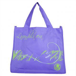 Non-Woven-Tasche - Lavandula vera - 26284 - Bag Shopper Umweltfreundlich