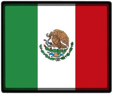 Mousepad Mauspad mit Motiv - Mexiko Fahne Fußball Fußballschuhe - 82108 - Gr. ca. 24 x 20 cm