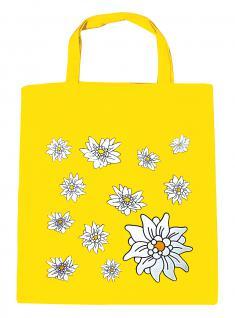 (08800-gelb) Umweltfreundliche Baumwoll - Tasche , ca. 28 x 43 cm mit Aufdruck