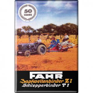 MAGNET - Fahr - Gr. ca. 8 x 5, 5 cm - 36536 - Küchenmagnet
