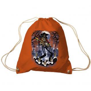 Trend-Bag Turnbeutel Sporttasche Rucksack mit Print- Ghost Guitar - TB65302