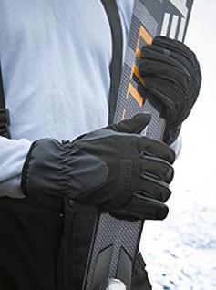 Ski- Handschuhe unisex wasserdicht TPU Membran Soft Shell Tech Sport - 03433 S