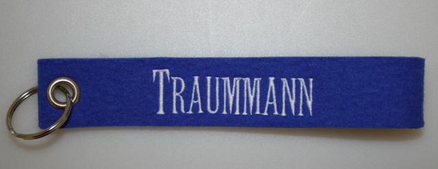 Filz-Schlüsselanhänger mit Stick - Traummann - Gr. ca. 17x3cm - 14250